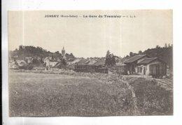 70 - JUSSEY ( Haute-Saône ) - La Gare De Tramway. - Altri Comuni