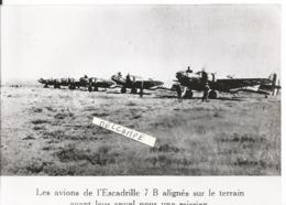 PHOTO AVION MARTIN 167  ESCADRILLE 7B AVANT MISSION  17X11CM ARCHIVE ECPA - Aviazione