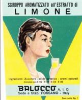 Sciroppo Aromatizzato Al Limone - Balocco, Fossano - Etiketten