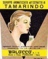 Sciroppo Aromatizzato Al Tamarindo - Balocco, Fossano - Etiketten