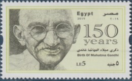 Egypt- 150 Anniv. Of Birth Of Mahatma Gandhi - Unused MNH - [2019] (Egypte) (Egitto) (Ägypten) (Egipto) (Egypten) Africa - Égypte
