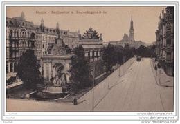 STETTIN  -   BERLINERTOR  U.  BUGENHAGENKIRCHE -  (2 SCANS) - Polen