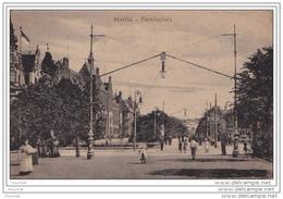 STETTIN  -  PARADEPLATZ -  (ANIMEE - 2 SCANS) - Polen