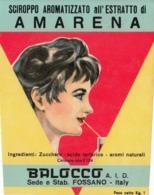 Sciroppo Aromatizzato All' Amarena - Balocco, Fossano - Etiketten