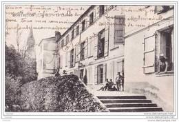 82) Montbeton.- (Tarn Et Garonne)  Le Château   - (animée - Militaires) - Francia
