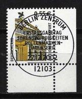 BUND Mi-Nr. 2300 Rechtes, Unteres Eckandstück Alte Oper, Frankfurt Gestempelt - BRD
