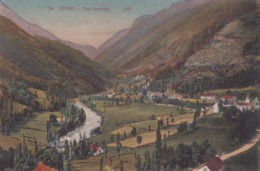 [65] Hautes Pyrénées > Gedre Vue Générale Colorisée - Francia