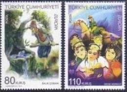 2010 TURKEY EUROPA - CHILDREN'S BOOKS MNH ** - 1921-... Repubblica