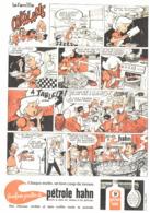 """PUB  """" PETROLE HAHN """" En BANDES DESSINEES Par UDERZO  Et GOSCINNY 1961 (13) - Livres, BD, Revues"""