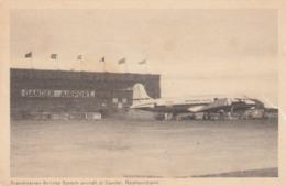 SAS Airplane , Airport , Gander , Newfoundland , Canada , 1951 - 1946-....: Moderne