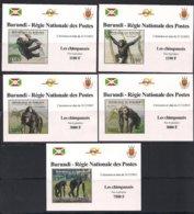Burundi  2012 OCBn° 2029-2032 *** MNH Cote 29 Euro Faune Chimpansees Chimpanzés Monkeys - 2010-..: Neufs