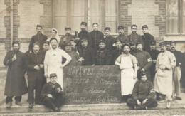 HOPITAL DES CONTAGIEUX TROYES 1914 - Gâle Tétanos Scarlatine Typhoïde - Troyes