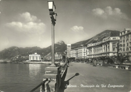 Salerno (Campania) Municipio Da Via Lungomare, Town Hall From Seafront Street - Salerno