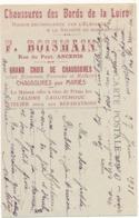"""ANCENIS - Carte Publicité Des """"Chaussures Des Bords De La Loire"""", Château D'Ancenis - Ancenis"""