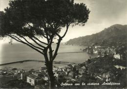 Salerno (Campania) Panorama E Costiera Amalfitana, Panoramic View, Vue Panoramique - Salerno