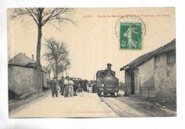 70 - JUSSEY - Route De Gevigney. Départ Du Tramway Pour Gray - Altri Comuni