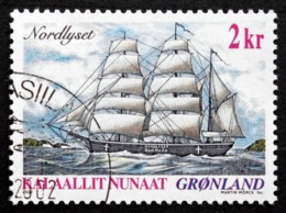 Greenland 2002   Ship Journey    Minr.381  ( O ) ( Lot  D 1608  ) - Usados