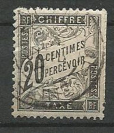 TIMBRE TAXE 1881 / 92 - N ° 17  Oblitere - Postage Due