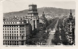 BARCELONA-PASEO DE GRACIA-PROMENADE DE GRACIA - Barcelona