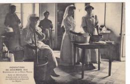 Inondations De Décembre 1910 - Dispensaire De La Croix Rouge - Croce Rossa