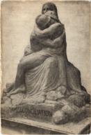 RECONCILIATION Par Emile DERRE - Rare - Carte Postée En 1928 - Sculture