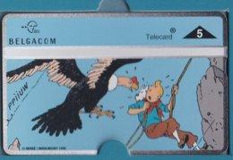 Tintin - 5ème Carte Téléphone - 5de Telefoonkaart Belgacom 1996 - - BD