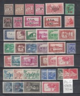 Algérie - Algeria - Lot De 77 Timbres Neufs Sans Charnière - 77 MNH Stamps - Algeria (1924-1962)