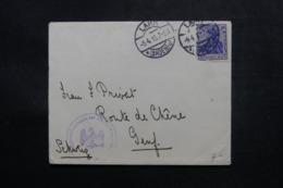 ALLEMAGNE - Enveloppe De Lahr En 1915 Pour La Suisse , Voir Cachet Militaire - L 47506 - Duitsland