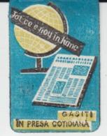 Romania Rumanien Roumanie - Vignette - Magazine & Newspaper Vignette - Advertising - 1960 - Rare - Size 30/20 Mm - Rumania