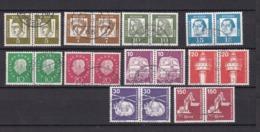 BRD - 1961/79 - Sammlung - W.Paare - Gest. - Gebraucht