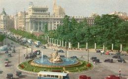 MADRID-LA CIBELES Y LA CALLE DE ALCALA - Madrid