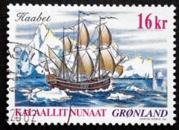 Greenland 2002   Ship Journey    Minr.384  ( O ) ( Lot  D 1614  ) - Usados
