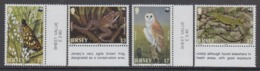 Jersey 1989   WWF /   Animals  4v (+margin)  ** Mnh (45239) - Jersey