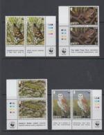 Jersey 1989   WWF /   Animals  4v (pair, Corners)  ** Mnh (45239A) - Jersey