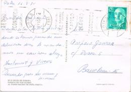 34667. Postal  POTES (Santander) Cantabria 1974. Picos De Europa, Puerto De San Glorio - 1931-Hoy: 2ª República - ... Juan Carlos I