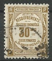 TIMBRE TAXE 1908 / 25 - N ° 46  Oblitere - Taxes