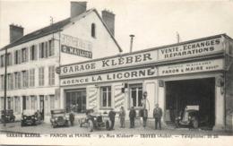 GARAGE KLEBER - FARON ET MAIRE - 91 RUE KLEBER - TROYES - Troyes