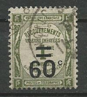 TIMBRE TAXE 1917 - N ° 52  Oblitere - Taxes