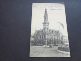 Belgique  België  ( 1640 )   Courtrai   Kortrijk  Hôtel Des Postes  Posthotel - Kortrijk