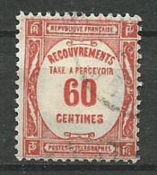 TIMBRE TAXE 1927 / 31 - N ° 58  Oblitere - Taxes
