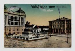 Belgrad Theatre Platz Место позоришта  Ca.1916y.  D183 - Serbia