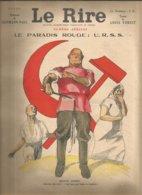 Le Rire Spécial Le Paradis Rouge Urss - Books, Magazines, Comics