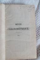 SAUNIER REVUE CHRONOMETRIQUE ANNEES  1874 A 1878 - Boeken, Tijdschriften, Stripverhalen