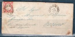 Lettera 1862 Da Napoli Per Torino  5 Grana (15/02/1862) - Napoli