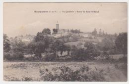 27185 Montautour 35 Vue Generale -route Saint M'Hervé - Sans éd - - Other Municipalities