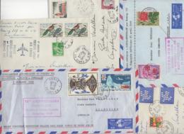 10 Lettres Par 1° Vol + 1 Cadeau Prix De Départ Sans Réserve 1€ Voir 2 Scan.  Bonnes Enchère              Lot Delc N°1 - Marcophilie (Lettres)