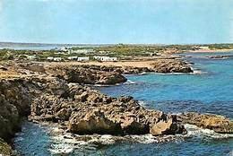 Spain Formentera (Islas Baleares) Es Pujols, Al Fondo La Playa - Spanien
