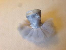 ORIGINAL BARBIE VINTAGE CLOTH #989 Ballerina Tutu Socket Collant Pink Bag - Barbie