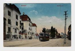 Újvidék Нови Сад Novi Sad Újvidék Nový Sad Erzsebet Ter Tramway  Strassenbahn  1916y.  D186 - Serbia