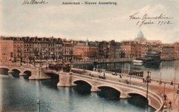 AMSTERDAM-NIEUWE AMSTELBRUG-1912 - Amsterdam